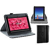 Navitech Black 7 inch Rotational Tablet Case / Cover for the Samsung Galaxy Tab A6