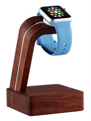 Navitech Apple Watch Series 1 / 2 / 3 Wood Charging Dock / Station / Platform