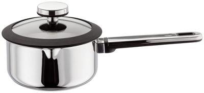 Stellar Stay Cool Stainless Steel 16cm Draining Saucepan