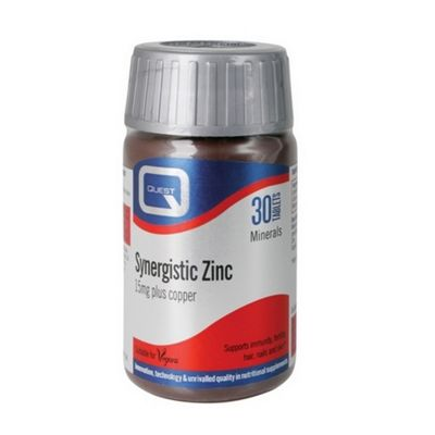 Quest Synergistic Zinc - 30 Tabs