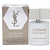 Yves Saint Laurent L'Homme Cologne Gingembre Eau De Cologne 100ml Spray For Men