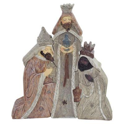 3pc Three Kings Christmas Nativity Set Ornament