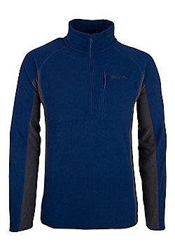 Mountain Warehouse Ashbourne Mens Fleece - Blue