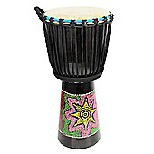 A-Star 10 inch Painted Djembe