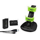 Stealth SX701 Dual Charging Dock with Batteries for Xbox 360