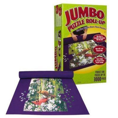 Giant Puzzle Jigsaw Roll Tube Up Mat For 3000 Pcs Jumbo Felt
