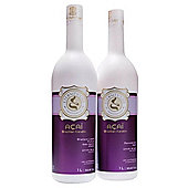 Brazilian Acai Keratine Blow Dry Hair Treatment Kit (1 Litre x 2) - Eternity