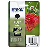 Epson Strawberry 29 Black Claria Ink