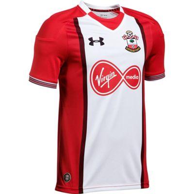 Under Armour Southampton FC 2017/18 Kids Home Short Sleeve Shirt White - YXL