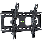 "VonHaus 23-42"" Tilt TV Wall Mount Bracket with Built-In Spirit Level"