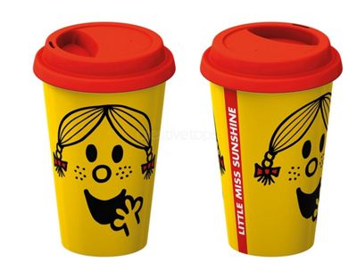 Creative Tops Little Miss Sunshine Ceramic Insulated Travel Mug 5185424