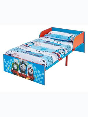 Thomas & Friends Blue Toddler Bed Plus Foam Mattress