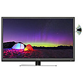 Technika 24F22B 24 Inch HD Ready 720P Slim LED TV DVD Combi with Freeview HD