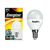 1x Energizer E14 SES Golf LED Light Bulb Warm White