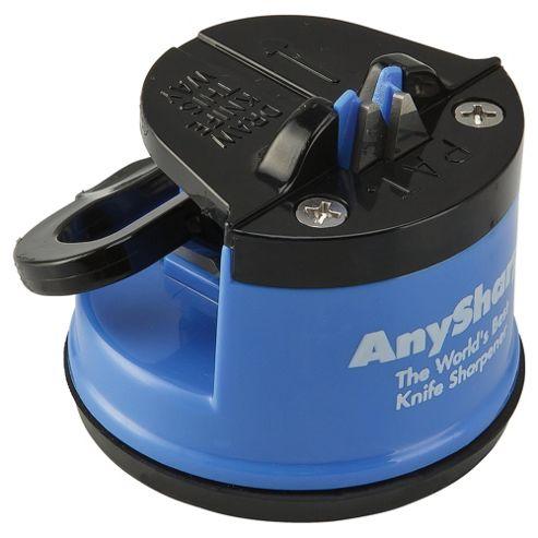 AnySharp Global World's Best Knife Sharpener, Blue