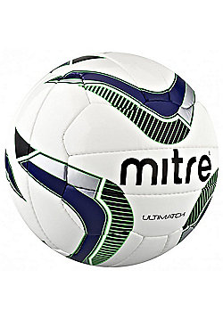 Mitre Ultimatch Football - White