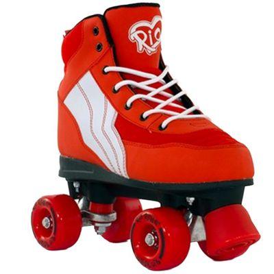 Rio Roller Pure Quad Skates - Red/White - Size - UK 2