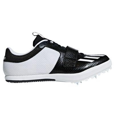 adidas Jumpstar Long Jump Triple Jump Spike Shoe Black/Black - UK 11.5