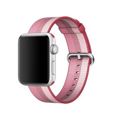 Apple 42mm Berry Woven Nylon