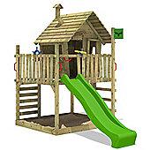 Fatmoose WackyWorld Mega XXL Treehouse With Apple Green Slide
