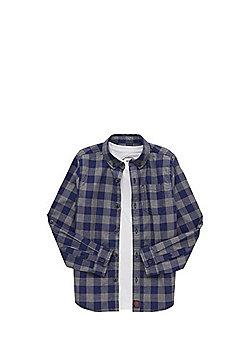 F&F Checked Shirt and T-Shirt Set - Multi