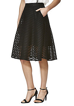 Cutie Flared Skirt - Black