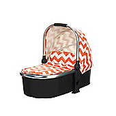 Obaby Chase Carrycot - ZigZag Orange