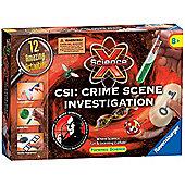 CSI Crime Sceene Investigation Set Science X - Ravensburger