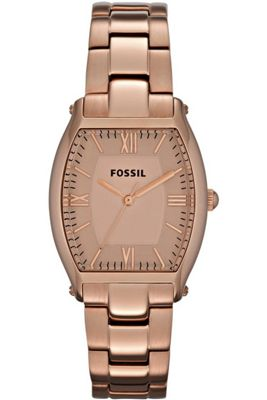 Fossil Ladies Wallace Rose Gold Tone Bracelet Watch ES3120