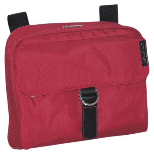 Little Lifestyle Pram Bag, Raspberry
