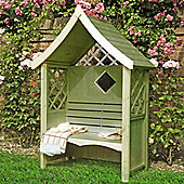 Finewood Rose Arbour With Bench