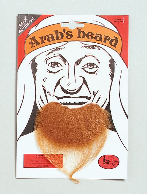 Goatee/Arab Beard. Brown