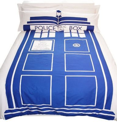 Doctor Who King Size Bedding - Tardis