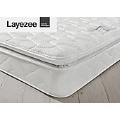 Layezee by Silentnight Calm Memory Pillow Top Mattress