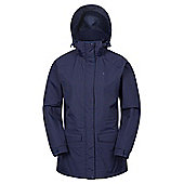 Mountain Warehouse Glacier Extreme Womens Long Waterproof Jacket ( Size: 16 )