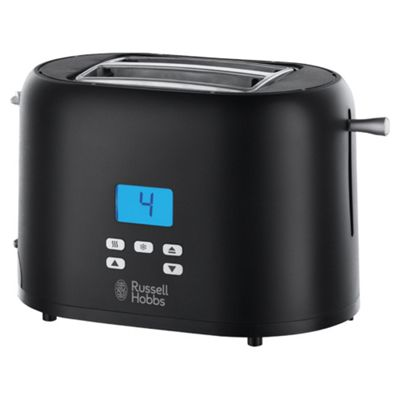 Russell Hobbs Precision 2 Slice Toaster - Black