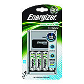 Energizer 1 Hour Battery Charger with 4 x AA Batteries
