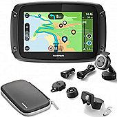 TomTom RIDER 450 *PREMIUM Motorcycle GPS SATNAV Lifetime World Map Speed Cameras