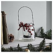 Tesco Christmas Berry Lantern Tealight Holder