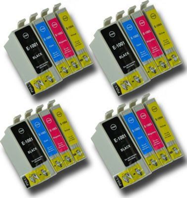 The Ink Squid T1001-4 Epson-compatible Rhino non-OEM ink Cartridges