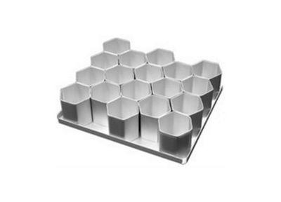 Alan Silverwood Multi-Mini Hexagonal Cake Pan Set 18 Piece