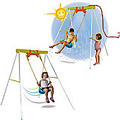 Water Spraying Garden Swing by Feber