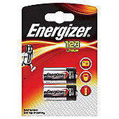 2 x Energizer CR123A CR123 123 3v Lithium Photo Battery