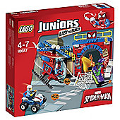 LEGO Juniors Marvel Spider-Man's Hideout 10687
