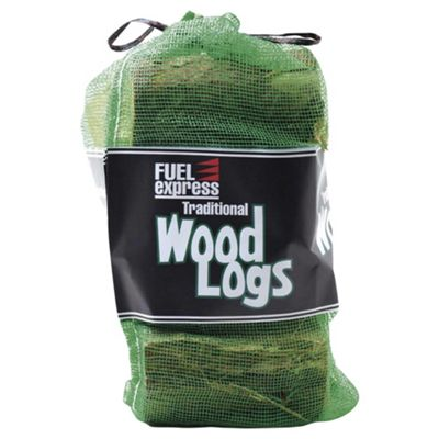 Fuel Express Traditional Wood Logs, 10kg