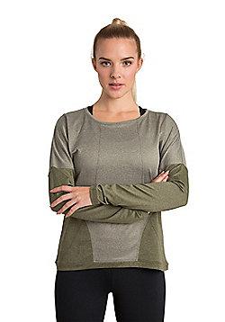 Zakti Cut And Paste Sweatshirt - Green