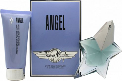 Thierry Mugler Angel Gift Set 50ml EDP + 100ml Body Lotion For Women