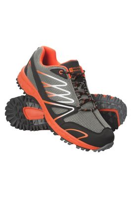 Mountain Warehouse Enhance Mens Trail Running Sneakers ( Size: Adult 10 )