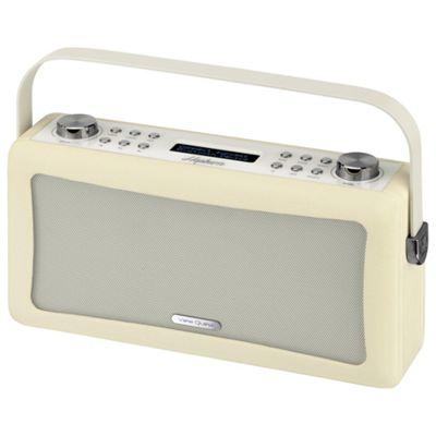 Buy Viewquest Hepburn DAB/DAB+/FM Bluetooth Radio, Cream from our