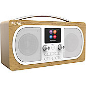 Pure Evoke H6 DAB/FM/Bluetooth Radio (Oak)